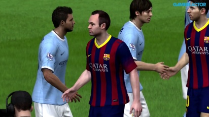 FIFA 14 - Octavos de Final Champions League - FC Barcelona vs Manchester City