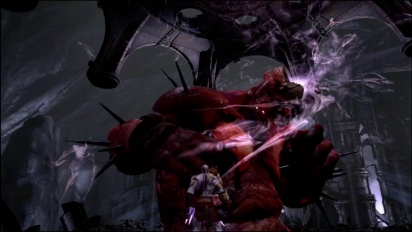 God of War III - PS4 HD-Remaster Gameplay - Kratos vs Hades bossfight