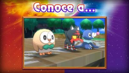 Pokémon Sol/Luna - Tráiler de los iniciales