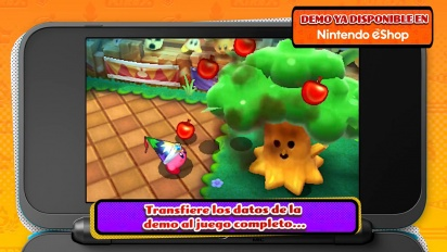 Kirby Battle Royale - Tráiler de la demo en español