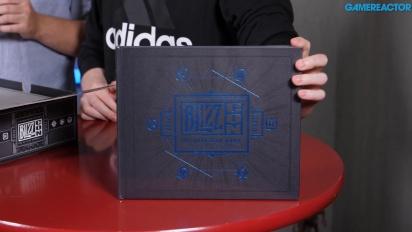 Unboxing de la caja de botín de BlizzCon 2018
