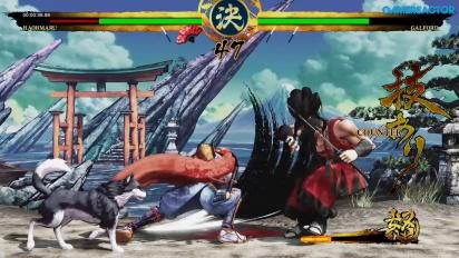 Samurai Shodown - Gameplay del modo Historia con Haohmaru
