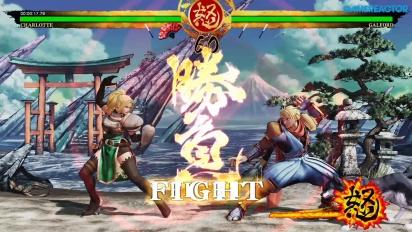 Samurai Shodown - Gameplay del modo Hisotria con Charlotte