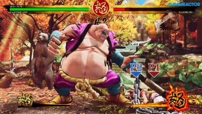 Samurai Shodown - Gameplay del modo Hisotria con Earthquake
