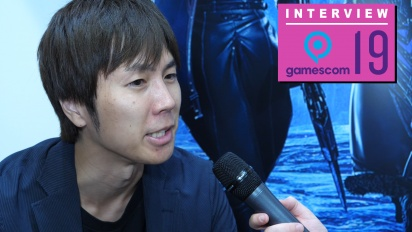 Code Vein - Keita Iizuka Gamescom 2019 Interview