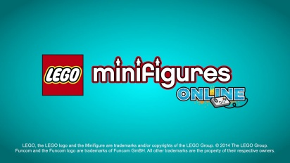 This is LEGO Minifigures Online
