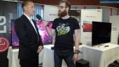 LG OLED - Entrevista a Jonas Markén