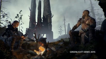 God of War - Prototype 2015 Footage