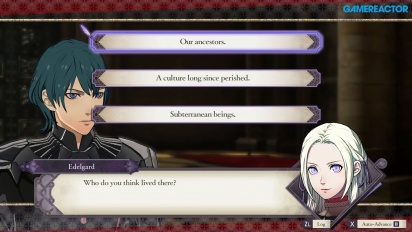 Fire Emblem: Three Houses - Gameplay de conversaciones
