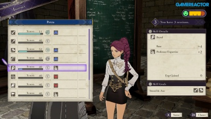 Fire Emblem: Three Houses - Gameplay de las Tutorías del Docente