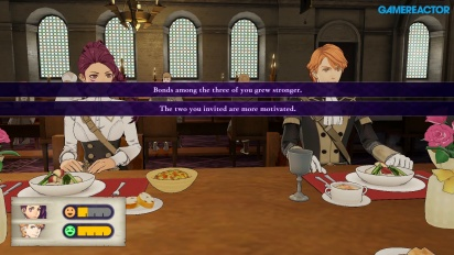 Fire Emblem: Three Houses - Gameplay de pesca, misión y comida