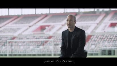 Tsubasa+ - Entrevista a Andrés Iniesta en español