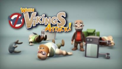 When Vikings Attack - Gamescom Trailer