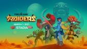 PixelJunk Raiders - Official Announcement Trailer   Stadia
