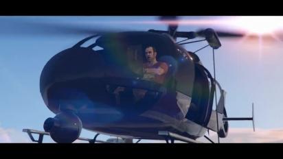 Grand Theft Auto V & Grand Theft Auto Online - PlayStation Showcase 2021 Trailer