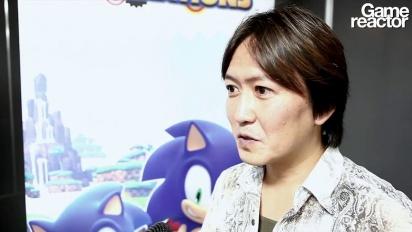 Sonic Generations - vídeo entrevista