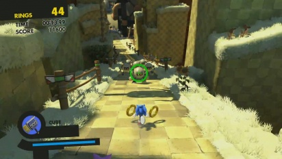 Sonic Forces - Tag Gameplay