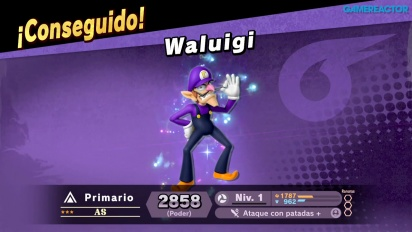 Super Smash Bros. Ultimate - Gameplay de Waluigi