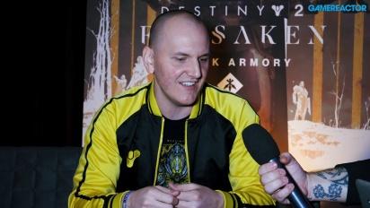 Destiny 2 - Entrevista a Jared Berbach