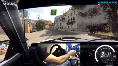 Dirt Rally 2.0 - Gameplay con palanca de cambios en asfalto