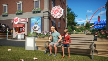 Planet Coaster - Ghostbusters Trailer