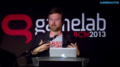 Patrice Desilets - presentación completa '15 años de juegos AAA' en Gamelab