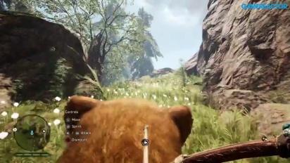 Far Cry Primal: Gameplay montando al tigre dientes de sable