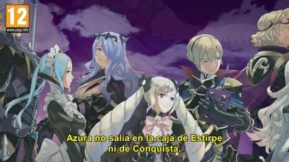 Fire Emblem Fates: Revelación - Tráiler español Historia de dos Familias