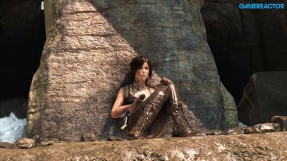 Rise of the Tomb Raider - Gameplay den Xbox One X en modo fps evelado