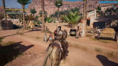 Assassin's Creed Origins - Gameplay variado sin spoilers