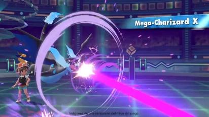 Pokémon: Let's Go Pikachu/Eevee! - Tráiler de Megaevoluciones en español