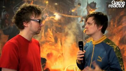 Gameglobe - vídeo entrevista al director de juego