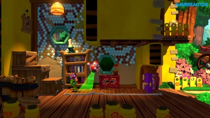 Yooka-Laylee and the Impossible Lair - Gameplay de Gamescom