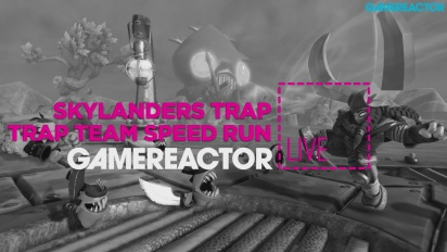 Skylanders Trap Team Speedrun & Witcher 3 - Livestream Replay