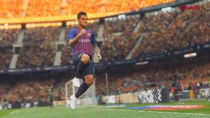 Pro Evolution Soccer 2019 - E3 2018 Trailer