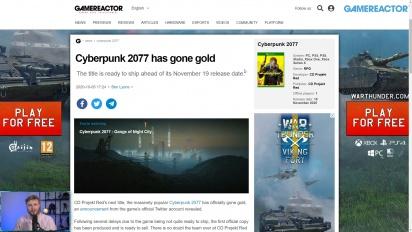 GRTV News - Cyberpunk 2077 ya es gold