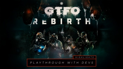GTFO - Rebirth Rundown with Developers Highlights
