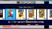 NES Mini - Menús, Gameplay de Super Mario Bros. y Modos Gráficos.