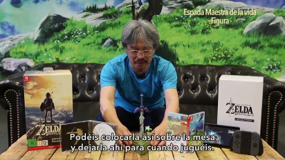 The Legend of Zelda: Breath of the Wild - Unboxing de la edición limitada con Eiji Aonuma
