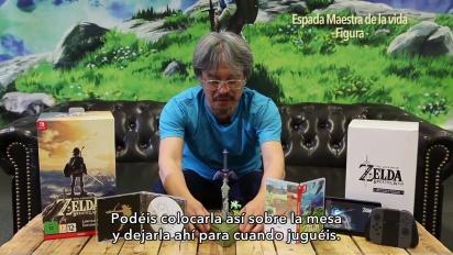 The Legend of Zelda: Breath of the Wild - Unboxing de la edición limitada con Eiji Aonuma