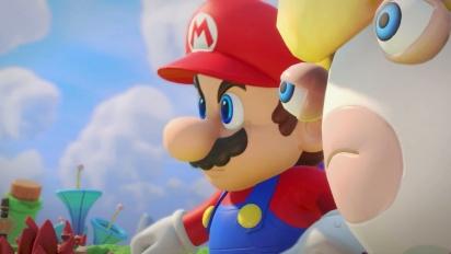Mario + Rabbids Kingdom Battle - Tráiler de lanzamiento en español