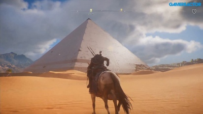 Assassin's Creed Origins - El mapa de norte a sur