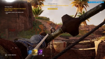Assassin's Creed Origins - Gameplay del sistema de combate