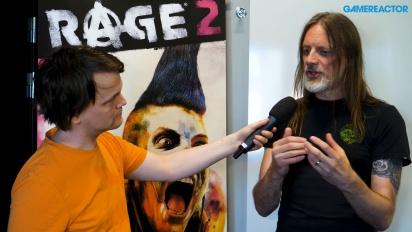 Rage 2 - Entrevista a Magnus Nedfors