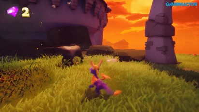 Spyro: Reignited Trilogy - Gameplay E3 2018