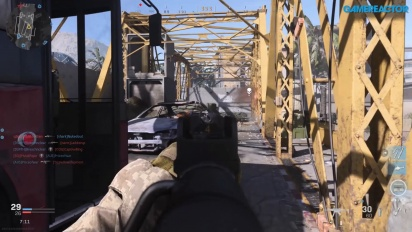 Call of Duty: Modern Warfare - Gameplay Duelo por Equipos en Puente Eufrates