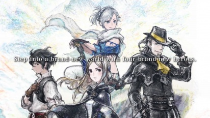 Bravely Default II - Mini Direct Trailer
