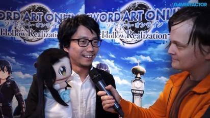 Sword Art Online: Hollow Realization - Entrevista a Yosuke Futami