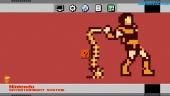 NES Mini - Salvapantallas de Pixel Art