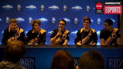 IEM Katowice 2018 Western Clash - Rueda de prensa de Team Dignitas